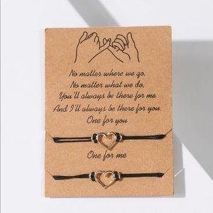 🆕 Open Heart Friendship Bracelets